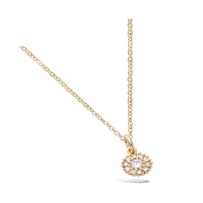 3 Microns Gold Plated Pendant 62HU0550CZ