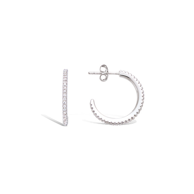 925纯银耳饰 21HU10520CZ