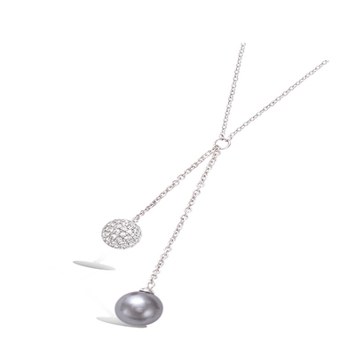 925 Silver Necklace 51HU0520PG