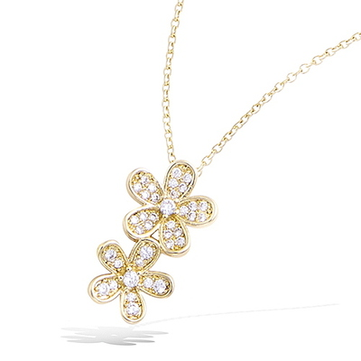 3 Microns Gold Plated Pendant 62EV0620CZ
