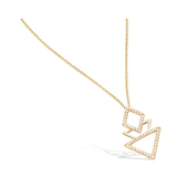 3 Microns Gold Plated Pendant 62HU0360CZ