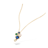 3 Microns Gold Plated Pendant 62HU0370X