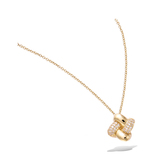 3 Microns Gold Plated Pendant 62HU0980CZ