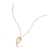 3 Microns Gold Plated Pendant 62HU0440